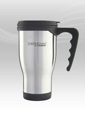 Thermos ThermoCafé 2060 Stainless Steel Travel Mug Flask 0.4L Camping Picnic