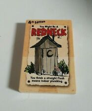 Redneck Themed Deck of Playing Cards - Jeff Foxworthy - 4th Edition