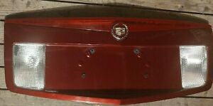 2004-2007 CADILLAC CTS  TRUNK LID LICENSE PLATE PANEL GARNISH WITH 3rd LIGHT