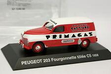 Norev Presse 1/43 - Peugeot 203 Fourgonnette C5 Primagaz 1958