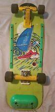 Vintage Variflex Missile, Skateboard Deck, Wheels, Nice Artwork, 80's