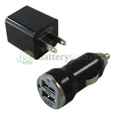 Fast Dual 2 Port Wall+Car Charger for Android Motorola Moto X4 /E4/G5/G5 Plus