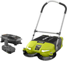 Debris Sweeper Kit 18-Volt One+ Lithium Ion Cordless 4.5 Gal. w/ Charger Battery