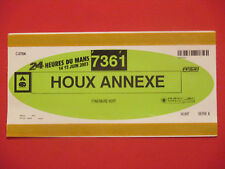 LE MANS 24 H 2003-Camping Voiture pass pour Ilex annexe-Motorsport ticket