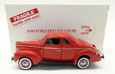 Danbury Mint 1/24 Scale Diecast - 828-005 1940 Ford Deluxe Coupe Red