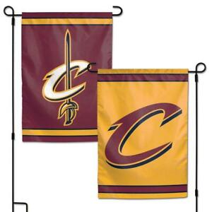 "Cleveland Cavaliers 2 Sided 12.5"" x 18"" Garden Flag [NEW] NBA Banner Sign Yard"