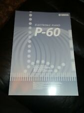 Yamaha P-60 Electronic Piano Owners Manual