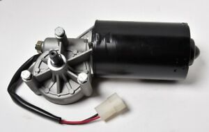 12V 70W DC Wiper Left Angle Reversible Electric Worm Motor 35 50 RPM High Torque