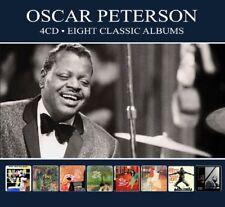 Oscar Peterson EIGHT (8) CLASSIC ALBUMS Plays Ellington, Gershwin &More NEW 4 CD