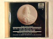 KARL RICHTER Handel: Music for the royal fireworks - Concerti a due cori cd