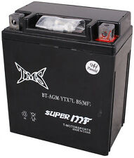 AGM YTX7L-BS Battery for Suzuki DR350SE 125 250 DR200 GZ250 Yamaha XT 225 EX250