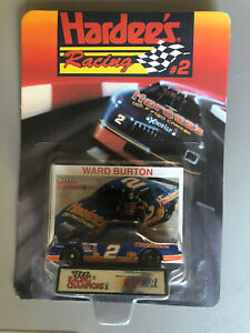 1993 #2 Ward Burton Hardee's Racing 1/64 NASCAR Diecast New Racing Champions