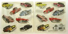1950s Car Theme ~ 20 - 3 Ply Dinner Napkins ~ Lot of 2