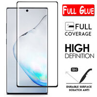 For Samsung Galaxy Note 10 Plus 8 9 FULL COVER Tempered Glass Screen Protector