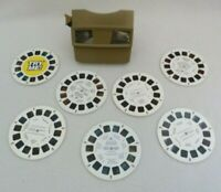 Vintage Viewmaster 3D Viewer Chicago Office Tourism Scenic America Winnie Pooh