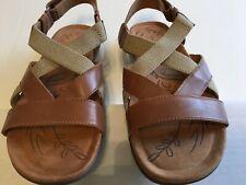 35b37b6a8c66 Naturalizer N5 Comfort Edith gladiator tan leather sandal size 8M
