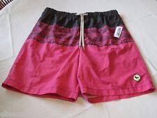 Modern Amusement board shorts swim surf trunks large L CROW RARE Men's pink