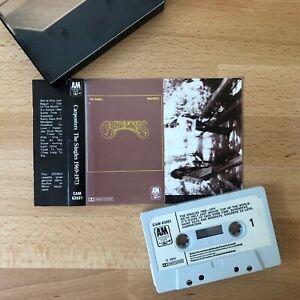 Carpenters, The Singles 1969-1973 . Cassette Tape