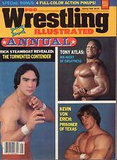 Pro Wrestling Illustrated Annual Spring 1984 Kevin Von Eirch 030117nonDBE