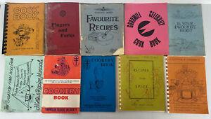 Vintage Cookbooks Bulk Lot