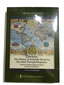 Great Courses DVD Doctors The History of Scientific Medicine Revealed Through