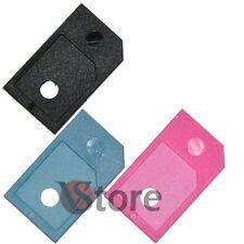 3 ADATTATORE MICRO SIM PER IPHONE 4 4S IPAD 3G 3GS MICROSIM Adattatori Scheda