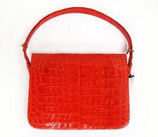 Nancy Gonzalez Coral Crocodile Mini Tote Bag Y177