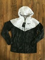 57 Nike Running Jacket 2019 Boston Marathon Black White CI1555-100 Mens Medium