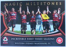 2017/18 A-League Trading Card - Western Sydney Wanderers - Magic Milestones MM10