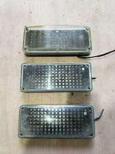 Three Whelen Series 700 Linear Led Clearblue And Clearred 01 0683718520b