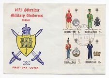 First Day Cover Gibraltar Stamps