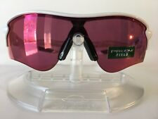 New OAKLEY RADARLOCK PATH Sunglasses PRIZM FIELD OO9206-26 POLISH WHITE Asia Fit