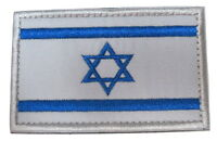 Israel Israeli National Country Flag Embroidered Hook Loop Patch