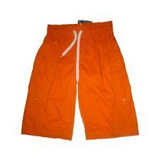 Pantalones cortos niño,shorts de Newness , naranja  ,talla 14