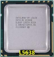 Intel Xeon L5638 CPU SLBWY 2.0 GHz 12MB 6-Core LGA1366 Processor