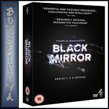 BLACK MIRROR - COMPLETE SERIES 1 & 2 PLUS SPECIAL **BRAND NEW DVD***