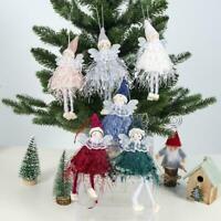 Weihnachtsengel Puppe Spielzeug Weihnachtsbaum Anhänger Ornamente Supplies J6V7