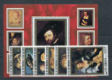 Komoren 353/58 Block 97 postfrisch / Gemälde - Rubens ....................2/3462