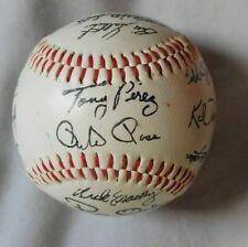 1986 Cincinnati Reds Signed Facsimile Baseball
