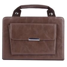 Brown Luxury PU Leather Handbag Smart Case Cover Bag For Apple iPad 1 2 3 4