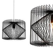 [lux.pro]® Deckenleuchte Schwarz Metall Gitter Vintage Retro Hängeleuchte Lampe!