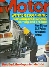 Motor - 5th January 1980 Citroen GSA Pallas