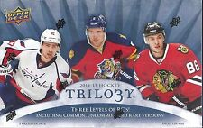2013-14 UD Trilogy Factory Sealed Hockey Hobby Box   Wayne Gretzky  AUTO ???