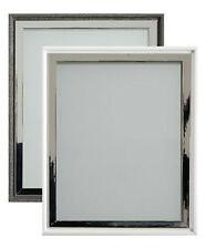 Frame Company Sanderson Range Modern Charcoal White Wooden Picture Photo Frame