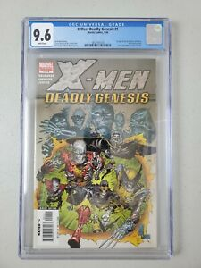X-men Deadly Genesis #1 CGC 9.6 First Appearance Of Vulcan - Fast Shipping!