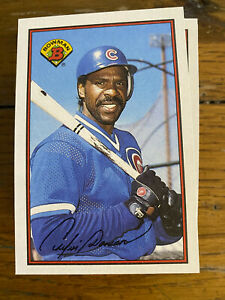 (50) 1989 Andre Dawson #298 Chicago Cubs NR-MT+ Multiple Reduced Shipping