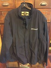 North End Men's 2XL Ericsson Global Rain Travel Jacket Convertible Navy