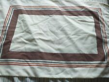 Vintage retro pillowcases pair st michael excellent condition