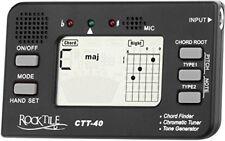 Rocktile Ctt-40 Accordatore Trovaaccordi Tone Generatore