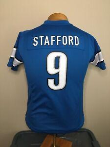 Nike On Field MATTHEW STAFFORD #9 Detroit Lions Jersey Youth Size M